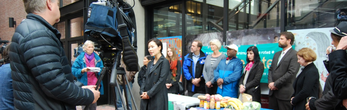 Photo of 2014 Welfare Food Challenge Launch press conference