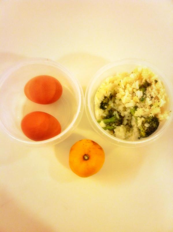 Photo of Jen's lunch on day 7 of the 2014 Welfare Food Challenge