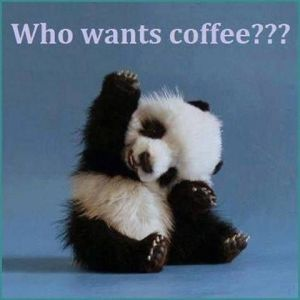 Who wants coffee???