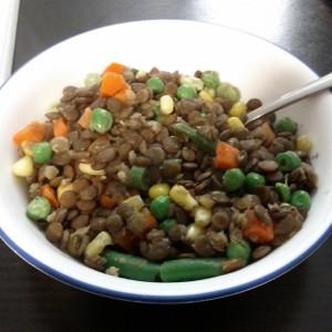 Photo of Tara-lee's lentil lunch