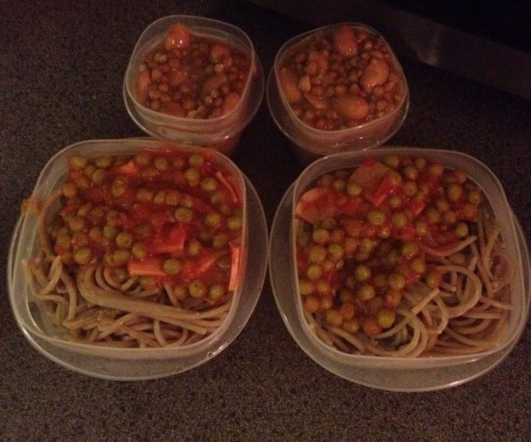 Photo of Victor's meals