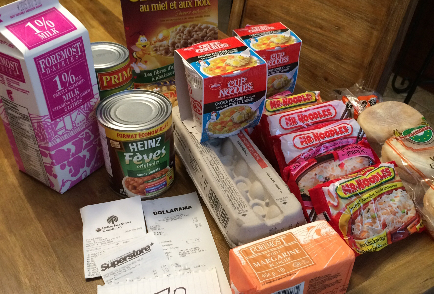 Photo of Cherie Devisser's food for the 2015 Welfare Food Challenge
