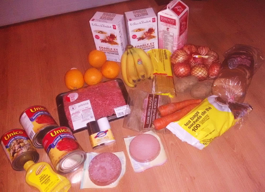 Photo of Ilene's Food for the 2015 Welfare Food Challenge