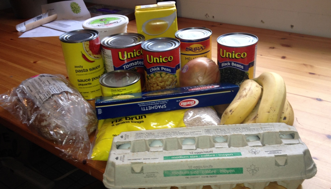 Photo of Laurel Burton's food for the 2015 Welfare Food Challenge