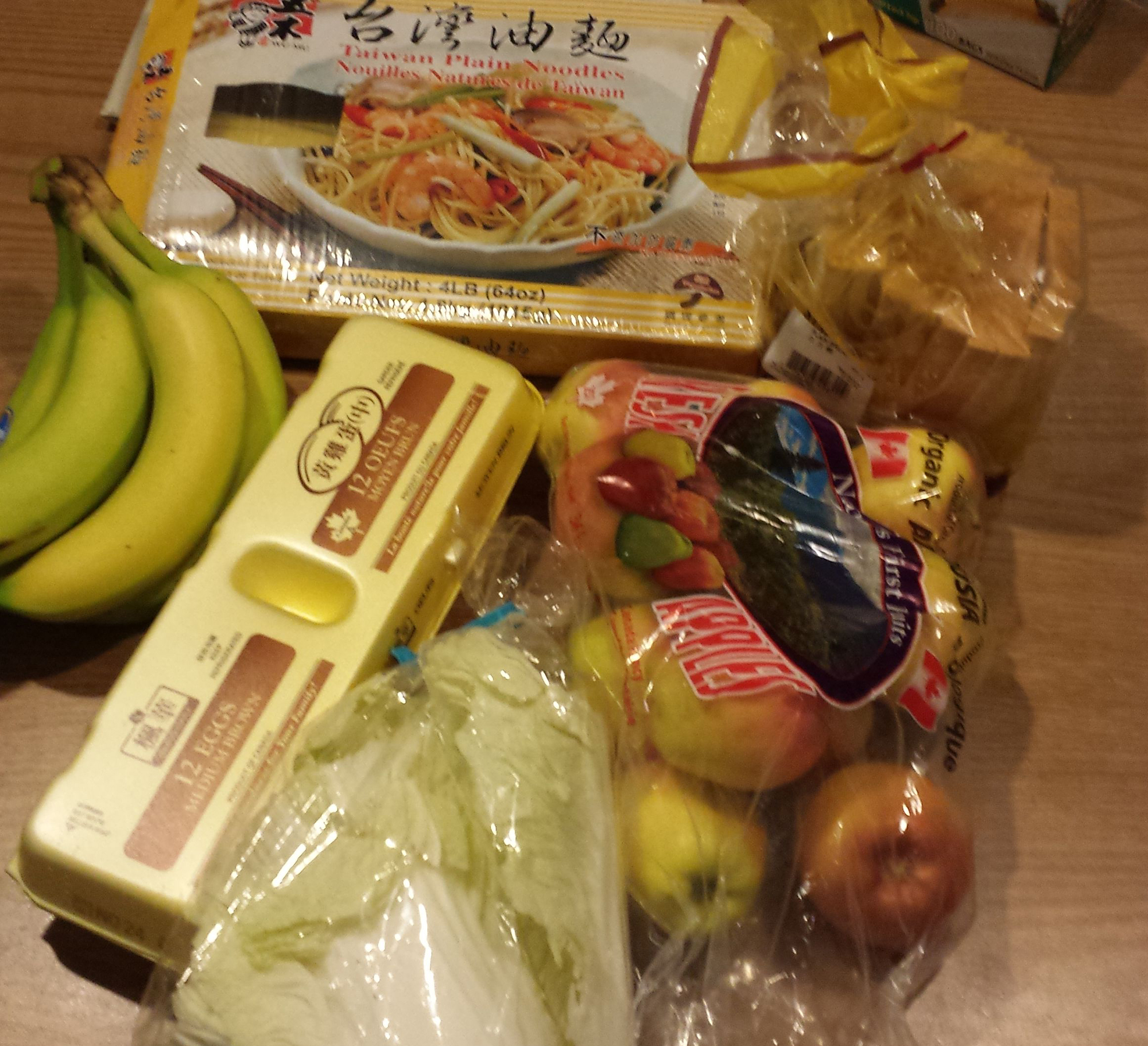 Photo of Lily Wong's food for the 2015 Welfare Food Challenge