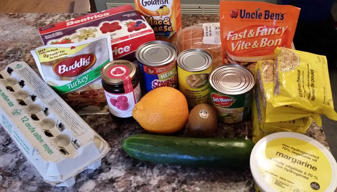 Sharon Feener's Food for the 2015 Welfare Food Challenge