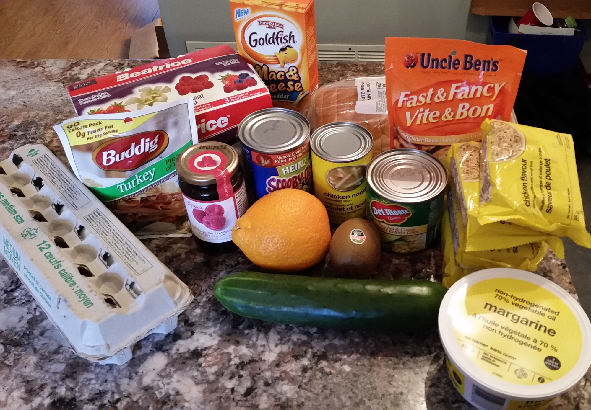Sharon Feener's Food for the 2015 Welfare Food Challenge